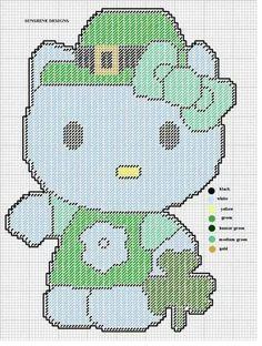 St. Patrick Day Hello Kitty