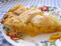 Southern Cooking ~ Southern Peach Pie