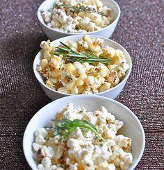 DELICATESSEN: 2 Recetas para unas palomitas de maíz muy chic