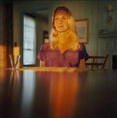"Maude Schuyler Clay (American, born 1953) Sarah Cross Date:1980Medium:Chromogenic color printDimensions:14 x 14"" (35.6 x 35.6 cm)Credit Line:Gift of the photographerMoMA Number:261.1985.x1-x2Copyright:© 2013 Maude Schuyler Clay"