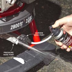 Pressure Washer tips: Make Your Pressure Washer Pump Last Longer