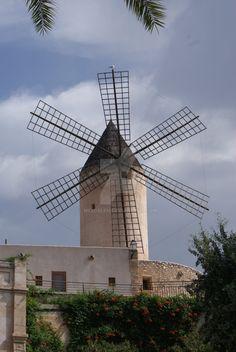 Molino de Viento by Meldelen  Mallorca, España.
