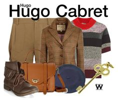 """""""Hugo"""" by wearwhatyouwatch ❤ liked on Polyvore featuring Donna Karan, Bottega Veneta, Jack Wills, CO, GiGi New York, New Look, Tiffany & Co., wearwhatyouwatch and film"""
