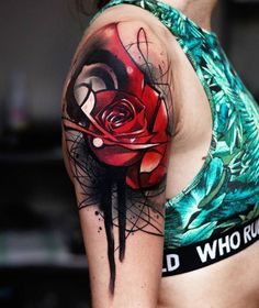 Beautiful rose tattoo - 100+ Meaningful Rose Tattoo Designs