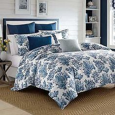 Nautica Cape Coral Blue Full/Queen Duvet Set #ComforterSets