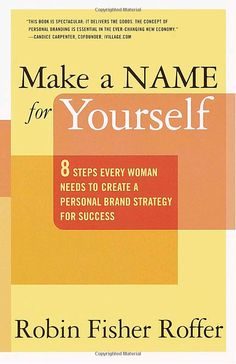 "Marca Personal. ""Make a Name for Yourself"" de Robin Fisher Roffer"