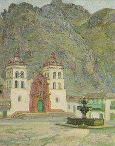 Indigenismo - José Sabogal - Plaza de Huancavelica