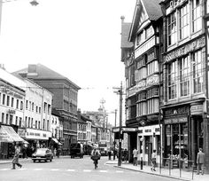 Belgrave Gate 1960s Leicester, Back In The Day, Great Britain, Old Houses, Gate, 1960s, Photographs, Old Things, England