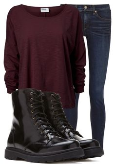 """Untitled #10229"" by xxxlovexx ❤ liked on Polyvore featuring rag & bone and Forever 21"