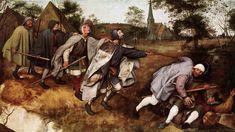 Pieter Brueghel the Elder. Parábola de los ciegos -Michael Frayn. La trampa maestra