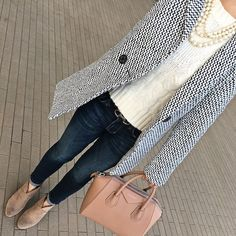 Six Casual Fall Outfits You Can Easily Copy - Stylish Petite Casual Fall Outfits, Fall Winter Outfits, Classy Outfits, Autumn Winter Fashion, Classy Casual, Fashion Fall, Stylish Outfits, Mode Outfits, Fashion Outfits