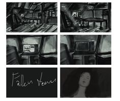 Fallen Tears. Thesis Animation Short Film. Coming soon by Chani Clue!!