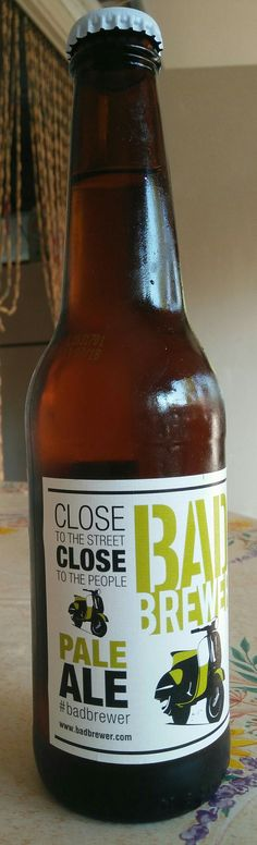 Bad Brewery - Pale Ale - 6,0% alc - 41 IBU
