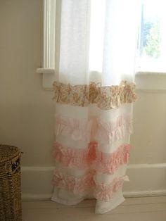 Cute Ruffled Curtains