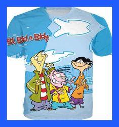 Fashion Clthing 90's Cartoon Ed Edd n Eddy 3D Casual T-shirt Women Men Character Funny tees Tops Summer Style t shirt