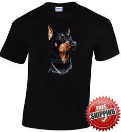 Hello! Check out our new arrivals! Cool tshirts for Cool People! Only from nickcooltshirts! Buy 60 euro of our stuff and get 10% discount! Doberman Pinscher Short Sleeve Gildan T-shirt Dog Lovers Father's Day Valentine's Day Gift Cool Men Top Tee €15.00 https://www.etsy.com/shop/nickcooltshirts?utm_source=outfy&utm_medium=api&utm_campaign=api