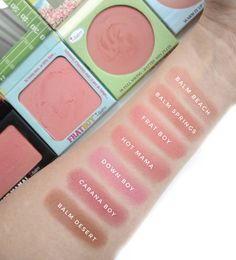 The Balm Balm Springs Blush Review