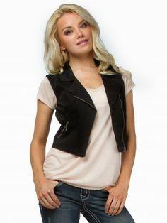 Stoosh Moto Vest #vanity #fashion #womens #womensfashion #womensapparel #spring2014 #vest #clothing