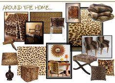 Need leopard print in my living room or bedroom