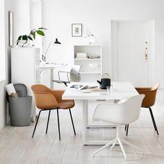 white tan grey workspace