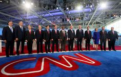 GOP presidential debate on CNN was longest in TV history