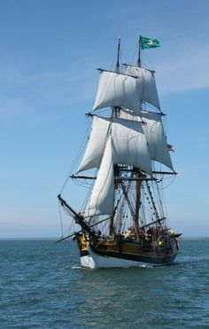 Brig Lady Washington. Photo by Ron Arel. http://joefollansbee.com/photos/tall-ships/