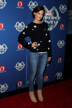 Katie Holmes Photos: Marvel Universe LIVE! NYC World Premiere