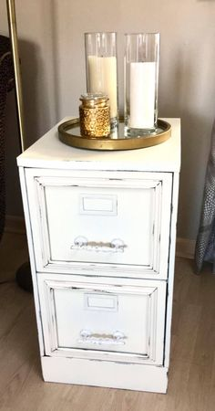 ideas shabby chic office space storage ideas for 2019 Cozy Office, Cool Office Space, Office Decor, Office Ideas, Painted File Cabinets, Metal Storage Cabinets, Filing Cabinets, Decorating File Cabinets, Diy Cabinets