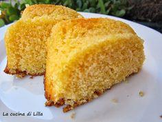 La cucina di Lilla (adessosimangia.blogspot.it): Torte: Torta gialla al mais e limone