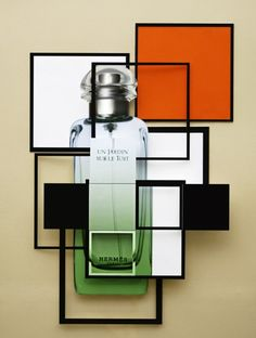 Damien Blottiere / French GQ June 2011/ Fragrance Special / Collage/