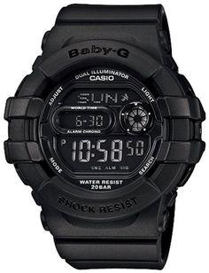 Casio Women's BGD140-1ACR Baby-G Shock Resistant Multi-Function Digital Watch $77.52