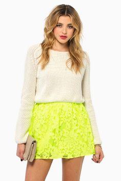 #neon #skirt