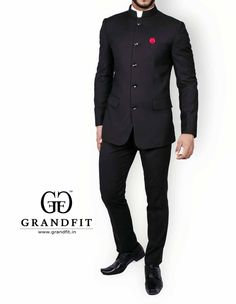 Bandhgala Formal Suits, Men Formal, Marriage Suits, Indian Groom Wear, Indian Wear, Suit Fashion, Mens Fashion, Tuxedo For Men, Men's Tuxedo