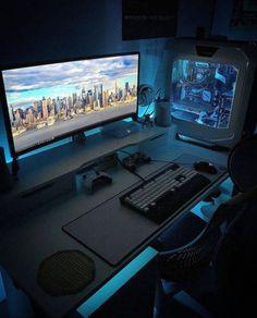 220 Gaming Room Inspiration Ideas Room Setup Gaming Room Setup Gamer Room