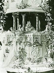 Stalking the Belle Époque: Royal Icing: The Wedding Cake of King George VI and Queen Elizabeth