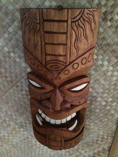 NEW Fang Tiki Mask bar mug Hawaii Smokin Tikis Hawaii fx
