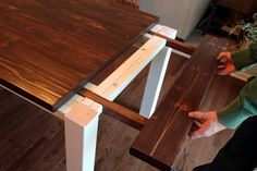 Ever dreamed of having your own farmhouse table but didn't want to spend a fortune? Well now you can! Keep on reading for details and plans, too! Oh mannnn, you guys. I am SO EXCITED to share today's post with you all! A couple of months ago, Jay set out to start building our brand...Read More »