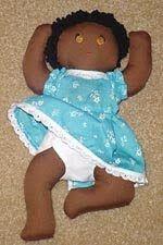 um sonho de cinderela: boneca bebê com moldes