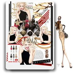 Designer Clothes, Shoes & Bags for Women Tabitha Simmons, Gwen Stefani, Nail Trends, Get The Look, Opi, Celebs, Shoe Bag, Polyvore, Beauty