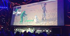 """Artista revela segredos por trás do BB-8, robô caçula de """"Stars Wars #Ator, #Casamento, #David, #Filme, #Foto, #M, #Mundo, #Novo, #Segredos http://popzone.tv/2016/12/artista-revela-segredos-por-tras-do-bb-8-robo-cacula-de-stars-wars.html"""