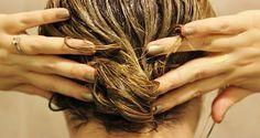 Voici 2 remèdes contre la chute de cheveux, à base de produits 100% naturels, qui stimulent la croissance des cheveux.