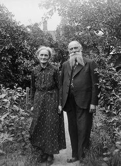 Mr and Mrs Nilsson, Kulladal, Skåne, Sweden by Swedish National Heritage Board, via Flickr