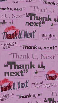 Thank U , next wallpaper Wallpaper World, Next Wallpaper, Wallpaper Iphone Cute, Tumblr Wallpaper, Pink Wallpaper, Aesthetic Iphone Wallpaper, Cute Wallpapers, Aesthetic Wallpapers, Trendy Wallpaper