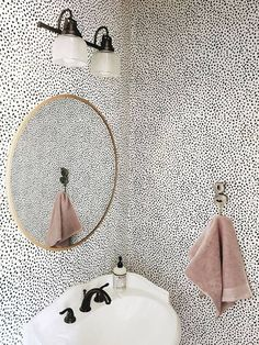 Speckle wallpaper by Chasing Paper