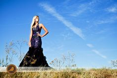 prom dress or formal pose for HS Sr portraits!