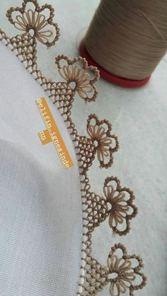 Needle Lace, Elsa, Brooch, Hand Embroidery Stitches, Stitching, India, Brooches