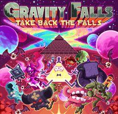 fuckyeahgravityfalls: #goodbyegravityfalls by Paul Robertson