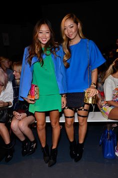Aimee Song - Tibi - Front Row - Mercedes-Benz Fashion Week Spring 2014