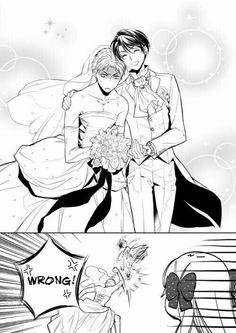 Amo a estos 2 xD Kashima x Hori.....y Sakura / Gekkan Shoujo Nosaki-kun
