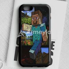 Minecraft Steve Typograpghy iPhone 6/6S Case | armeyla.com